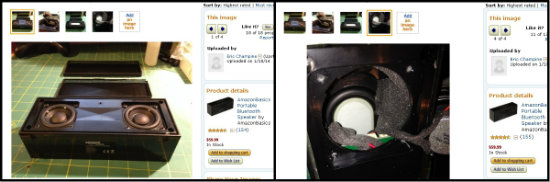 Amazonアメリカ スピーカー分解