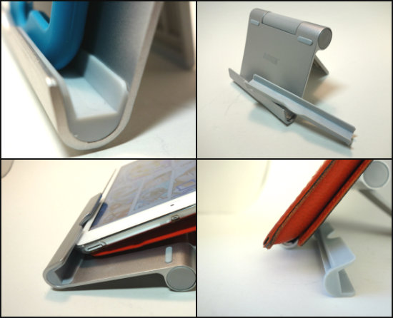 ANKERタブレット用スタンド厚み対応