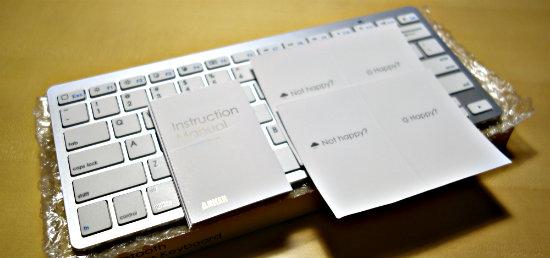 ANKERブルトゥースキーボード1