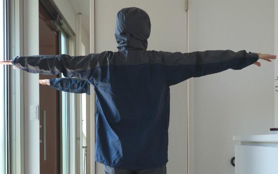 ベルグテック背面両腕伸ばし