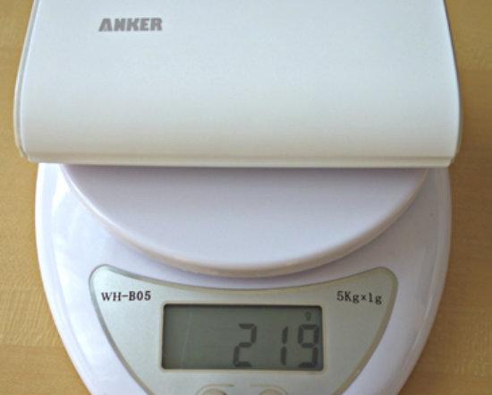 Anker astro2 重さ