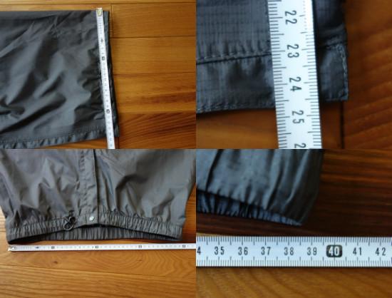ベルグテック裾幅245ウエスト78