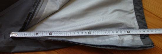 ベルグテックズボンの裾35