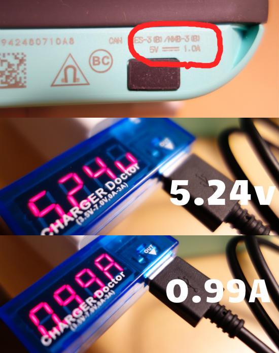 BOSESoundLinkColor電流電圧