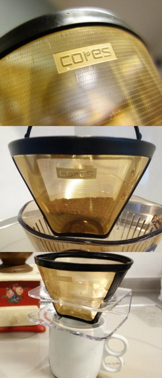 コレスのゴールドフィルター01