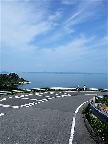 豊島美術館前の絶景