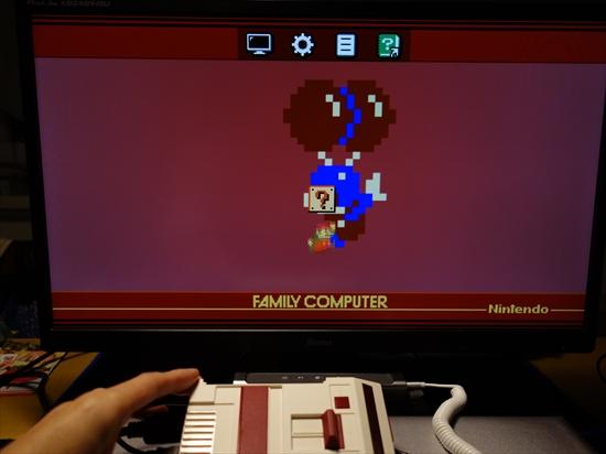クラシックミニファミコン全画面