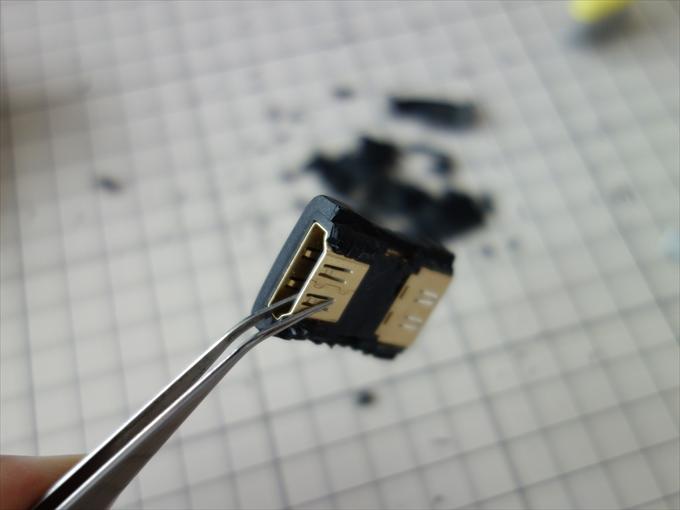 HDMI端子加工1