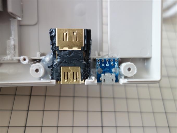 HDMI端子固定2