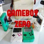やっと出来たよ!ゲームボーイゼロ(GBZ GameBoy Zero)!!