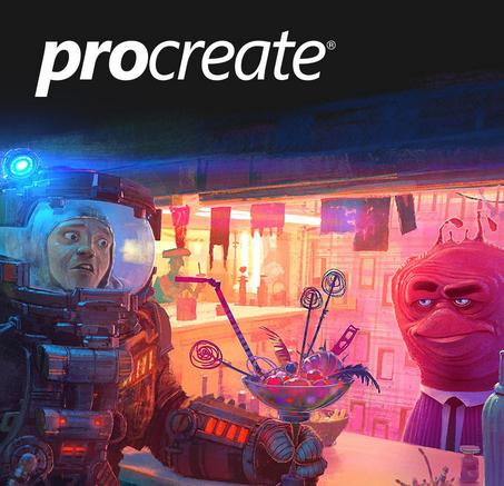 ipad最強のお絵描きソフトprocreateがたったの300円